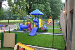 Completed Playground w/ turf