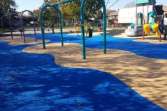 Surfacing Blue_Beige Solid