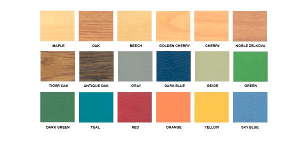 Signaflex - Color Chart