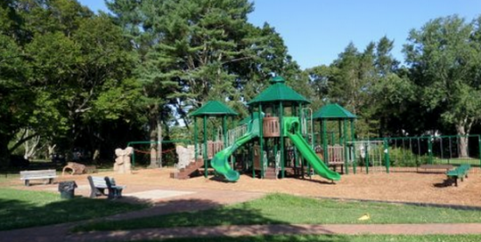 Playsites surfaces