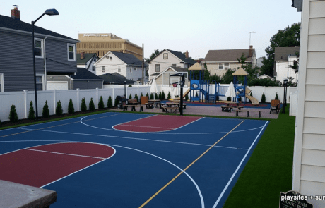 playground equipment installation